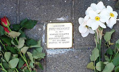 Stolperstein Bockhorst 2019